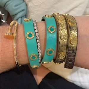Tory Burch wrap bracelets